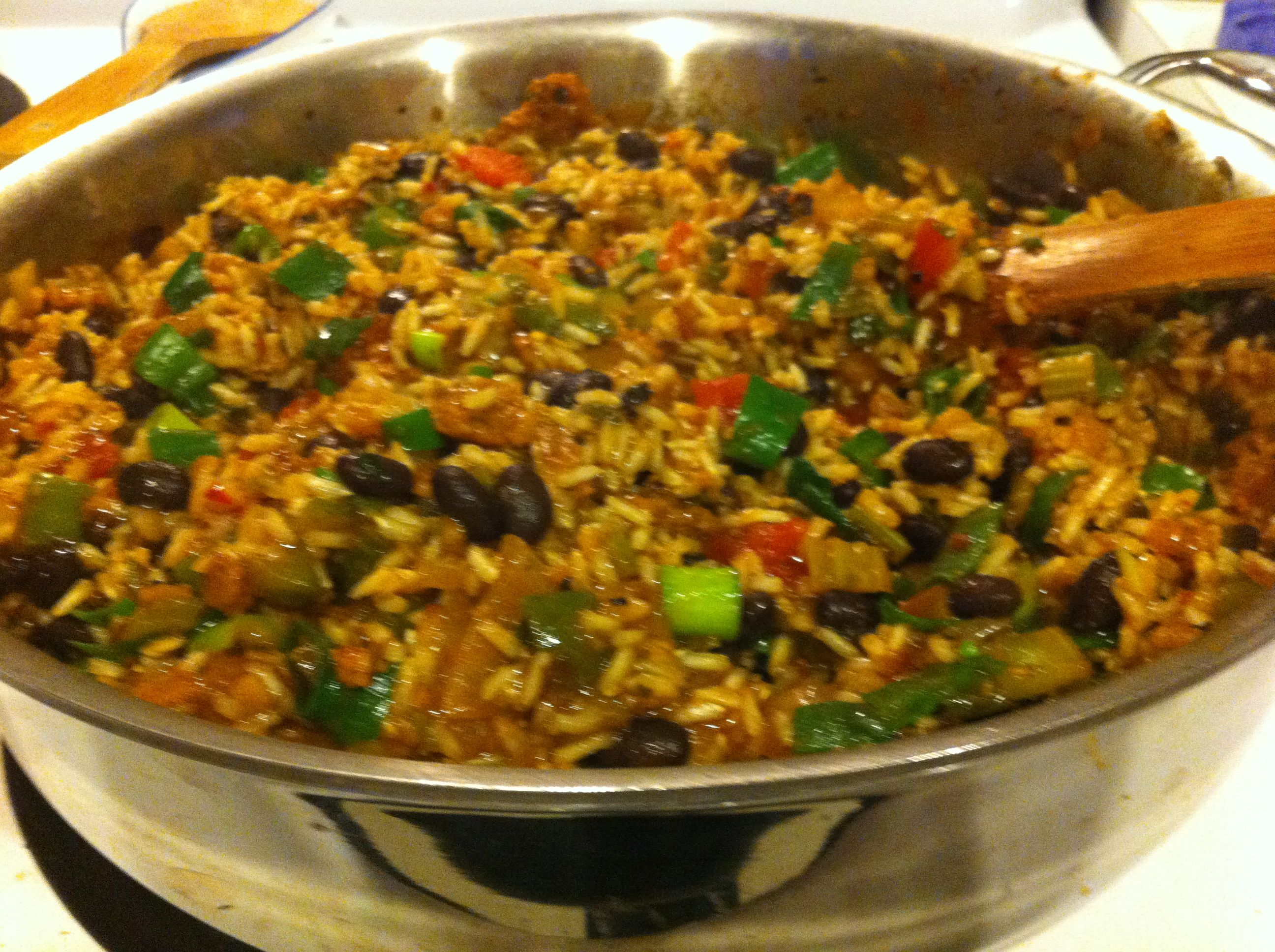 Vegan Dirty Rice | Mostly Vegan Kitchen