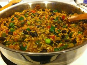 Vegan Dirty Rice Ready to Serve