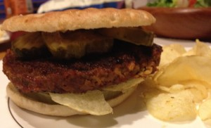 Great Veggie Burgers Made by Jon