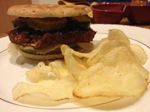 Jon's Gourmet Veggie Burger