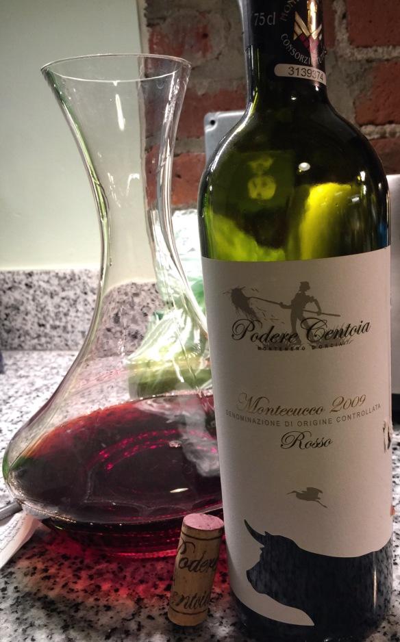 Montecucco 2009 Wine from Italy